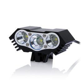 Wasserdichte 7500 Lumen 3 x CREE T6 LEDs USB Port 4 Modi Fahrrad Licht Scheinwerfer Radfahren Taschenlampe Frontscheinwerfer von Fabrikanten