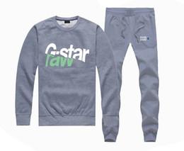 hoodie das calças das estrelas Desconto M533967415 Hot-venda G-STAR Moletons + CALÇAS terno para Homens e Mulheres de Lã Forrado Hip Hop Skate Crewneck hoodies S-4XL