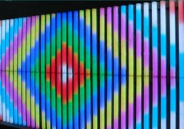 lua verde luzes led Desconto NOVO 16 Pixeis / M cor cheia SMD5050 RGB LED tubo digital display led, DMX512 IC, 12 W + controlador DMX + 700 W adaptador de energia MYY