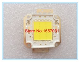 Wholesale Taiwan Chip - Wholesale- 20pcs 20W LED CHIP Integrated High Power Lamp Beads white 600mA 32-34V 1600-1800LM 24*40mil Taiwan Huga Chip