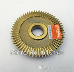 Wholesale Key Cutter Machine Blade - NO:0010 titanizing high quality wenxing key cutting machine blade cutter