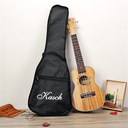 Wholesale Zebra Strings - Wholesale- Kasch MUH-508 26 inch Zebra Wood Ukulele Rose Wood mini Guitar child 4 strings uke hawaii guitar With Black Bag