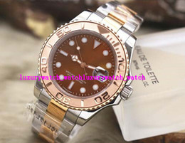 Wholesale Men K Gold Bracelets - Luxury Brand Men Watch Sapphire 18 k Rose Gold 116621-78801 Steel Bracelet 40mm Automatic Men's Watch Watches