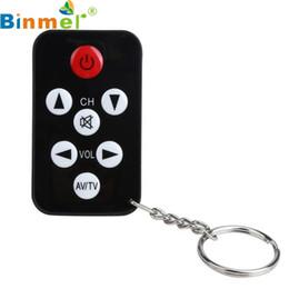 Al por mayor-Precio de fábrica de venta caliente TV Mini Keychain Control remoto universal para Philips Sony Panasonic Toshiba LO Envío gratis Mar3 desde fabricantes