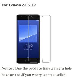 Wholesale Lenovo Mobiles Covers - Wholesale- For Lenovo ZUK Z1 Z2 Tempered Glass Phone Front Cover Protective Clear Film Mobile Accessory For Lenovo ZUK Z2 Screen Protector