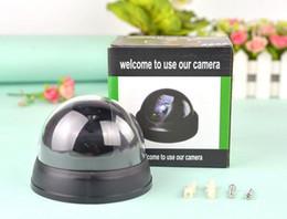 Kamera produkte online-Simulation Kamera Monitor Dummy-Kamera Für Kinder Hemispheric Mit Licht 9 * 9 * 7 cm ABS Blinklicht Garten Tricky Produkt Neuheit Wohnkultur