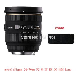 Wholesale Dive Rings Wholesale - Wholesale- Lens Zoom Rubber Ring Rubber Grip Repair Succedaneum For Sigma 24-70mm F2.8 IF EX DG HSM lens