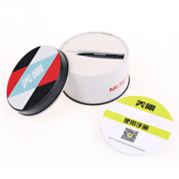 Wholesale Bluetooth Audio Plug - Wholesale-MENCOM Aluminum Bluetooth Receiver Mini Car AUX Audio Bluetooth Receiver Plug And Play