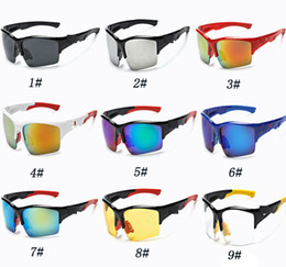 Wholesale Wholesale Night Driving Glasses - Newest Sport Riding Sunglasses Men Fashion Outdoor Cycling Eyewear For Biking Driving Fishing Golfing Night vision Goggles Sun glasses