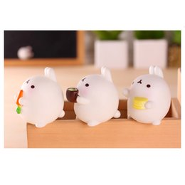 Wholesale Magic Tricks Toys - New Arrival Squishy Afternoon Tea Bunny Moshi Cat Minifigures Hand Lepin Anti Autism and ADHD Decomppression Squishy Magic Tricks Toys