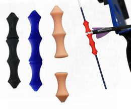 Wholesale Finger Shot - Archery Bowstring Finger Saver Quick Shot Finger Guard for Hunting or Bowfishing Arrow Accessory Guard Free Shipping