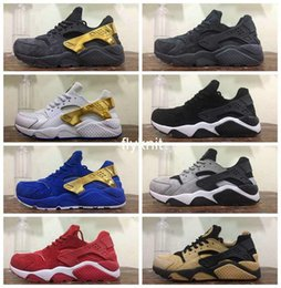 Wholesale Royal Stores - 2017 Air Huarache Premium Running Shoes High Qualiry Mens Hurache Ultra Leather Huaraches Sneakers Harache Trainers Shoes Store