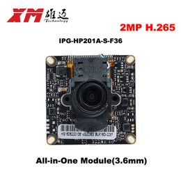 Wholesale Mobile Megapixel Camera - 2016 New Arrival Megapixel 2.0 Megapixel H.265 IP Camera Module Board 1080P CCTV Camera IP Chip Board Mobile Phone View