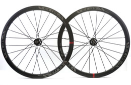 Wholesale Bicycle Brake Sets - VELOSA!Free shipping 38mm depth Clincher carbon wheel 25mm width disc brake road bicycle wheelset with Novatec771 772 hubs U-shaped wheel