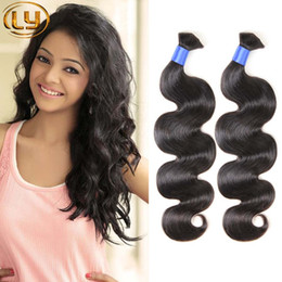 Wholesale Cheap Bulk Weave - 7a Malaysian Micro mini Braiding Bulk Hair No Attachment Body Wave 3 Bundles Unprocessed Malaysian Bulk Hair Cheap Human Hair Weave
