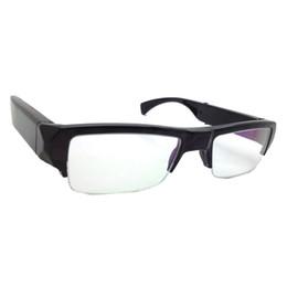 Wholesale Mini Spy Cams Sunglasses - 10pcs HD 1080P Hidden Sunglasses DVR Eyewear Cam Portable Spy Camera Pinhole Video Recorder Mini DVs With Retail Package