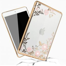 Wholesale Mini Ipad Stylish - Diamond silica falling stylish smart cover for ipad mini1 2 3 ipad 2 3 4 air1 2