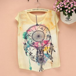 Wholesale Big Top Promotions - Wholesale-PROMOTION SALE American fashion t shirt women new 2014 summer dress girls novelty printed tshirt big size women's top tees