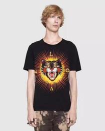 Wholesale Leopard Print Tshirts - Good Quality Italian NEW Cotton T-shirts Leopard Print Men Short Sleeve Herren LOVE Summer male Tops Tees Casual Tshirts M-3XL
