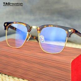 7a6dd32f9c Al por mayor-2017 Moda TAG Hezekiah Marca Optical Glasses Frame Mujeres  Hombres Gafas de ordenador Prescripción Eyewear oculos de grau lectura