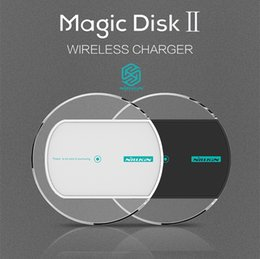 Wholesale Nexus 2nd Gen - Nillkin Magic Disk 2nd Gen Portable Qi Wireless Charger Pad For Samsung s7 edge s8 s8 plus Nexus 5 6 Charger Free shipping