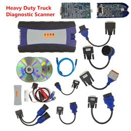 Wholesale Heavy Duty Scanners - NEW NEXIQ 2 USB Link Diesel Heavy Duty Truck 125032 Car Diagnostic Scanner Full Set