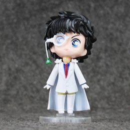 Figure conan en Ligne-POPOToyFirm 10cm Cartoon Anime Detective Conan Kaitou Kiddo Lovely Q version PVC Action Figure Collection Modèle Jouets Poupée