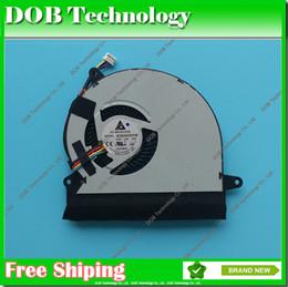 Wholesale Delta Fans Laptop - Wholesale- laptop cooler CPU Cooling Fan For Asus U56E U56E-RAL9 DELTA BB86 BDB05405HHB 5V 0.36A cpu cooler fan