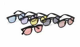Wholesale vintage sunglasses depp - Michellestore New fashion vintage Rivets Super Star Johnny Depp Sunglasses women men brand Sun glasses retro gafas oculos de sol