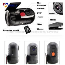 Wholesale High Quality Sd Dvr - Newest mini D168 Car Dvr No Screen Recorder Car-Detector Auto Black DVR High Quality Car Camera Video Durable Recorder Registrator Car DVR