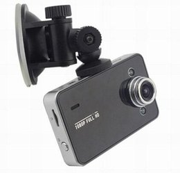 "Wholesale Tft Video Out - HDMI Motion 2.4"" TFT K6000 HD 1080P Car DVR Vehicle Camera Video Recorder LED Night Vision With Retail Package free DHL"