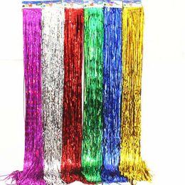 Wholesale Rain Meter - Rain wire tassel Valentine's Day 1 meter balloon rain wire wedding birthday Christmas decoration background atmosphere venue layout