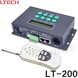 Wholesale Led Pixel Controller Dmx - LT-200 LED Digital Controller;SPI signal output,1024 pixels controlled;can work with dmx console,also can as a DMX-SPI decoder