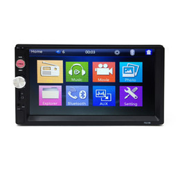 Wholesale Dvd Player Without Screen - Cheap Price 7 inch touch screen universal double din player without car dvd car mp5 player with bluetooth radio swc