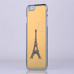 Wholesale Eiffel Tower Galaxy S4 Cover - Eiffel Tower Case Metal Aluminium Alloy Eiffel Tower Cover for Samsung Galaxy S3 S4 S5 S6 Edge Plus Note 3 4 5 No Package