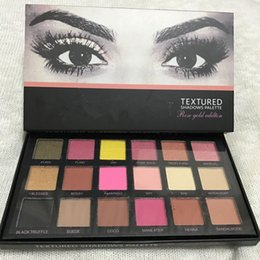 Wholesale Arriva Fashion - 18 Colors High Quality Beauty Eyeshadow Rose Gold Textured Pallete Make up Eye shadow Fashion Palette 2017 New Arriva