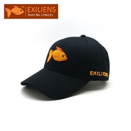 Wholesale Hip Hop Bboy - [EXILIENS] 2017 New Fashion Brand 100% Cotton Snapback Caps Strapback Baseball Cap Bboy Hip-hop Hats For Men Women Fitted Hat