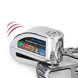 Wholesale Electric Motor Lock - Motor bike accessories motorcycle electric lock alarm lock Disc-brake anti-theft alarm