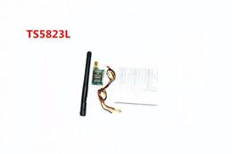 Wholesale Wireless Mini Audio Transmitter - Wholesale- TS5823L 5.8G 200 mW 40CH Mini AV Wireless Audio Transmitter Module per Quadcopter Drone