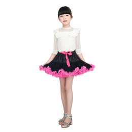 Wholesale New Arrival Baby Girls Pettiskirt - New Arrival Fashion Baby Girls Summer Ball Gown Skirt Princess Party Dancing Perform Fluffy Pettiskirt Tulle Tutu Skirts For Girls
