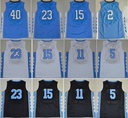 Wholesale Short Ivory Heels - Discount NCAA College North Carolina Tar Heels Jerseys 44 Justin Jackson 2 Joel Berry II 5 Marcus Paige 15 Vince Carter 40 Barnes with name