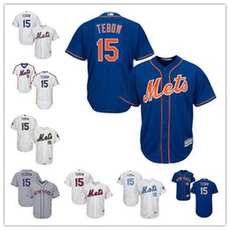 Wholesale Authentic Shorts - MLB Men's New York Mets Tim Tebow 2017 Alternate Authentic Collection Flex Base Cool Base Player Replica Jersey shipping free