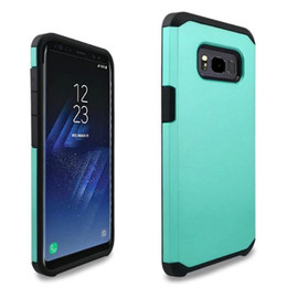 Wholesale Case V9 - Tpu PC Hybrid Slim Armor Case Cover for Samsung Galaxy s8 s8 plus J3 2017 for LG G6 V5 V9 50pcs lot