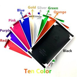 Wholesale Cell Phone Waterproof Cover - Cell Phone Skins Stickers Full Body PVC Matte Waterproof Luxury Back Screen Protector Skin Cover For Iphone 7 7 Plus 6 6Plus 5