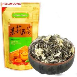 início c Desconto C-LC024 Early Spring Chá Verde com jasmim Hua Mao Feng Huangshan Maofeng chá de jasmim chá 50g fragance