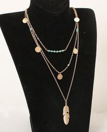 Wholesale Multi Layered Fashion Necklace - Women Fashion Necklaces Lady Multi-layered Necklace Girl Multi-layered Necklaces Big Girl Jewelry Popular Multi Layered Necklace Free Shippi