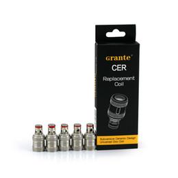 Kanger subox mini bobinas de substituição on-line-100% Original Grante CER SSOCC Bobinas De Cerâmica 0.5ohm 0.9ohm Ni200 0.2ohm Substituição para kanger subox toptank mini subvod topbox nano