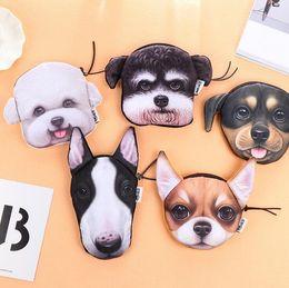 Wholesale Fresh Child - New Animal Coin Purses Holders 3D Dog Purse For Coins Women Coin Bag Children Zipper Pouch Cute Small Wallet Holder Girls Purse