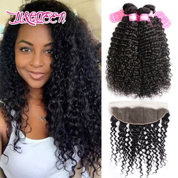 Wholesale Wholesale Hair Extension Online - Peruvian Virgin Hair Ear to Ear Closure With 4 Bundles Natural Beauty Queen Hair Extensions Good Quality Best Selling Online