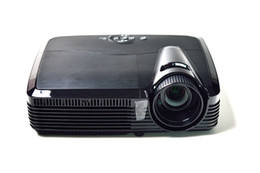 Wholesale dlp shutter 3d - Wholesale-2016 New arrival Amazing ATCO Top quality 5500 lumens HD 1080p 3D projector portable multimedia Active shutter 3D DLP projectors